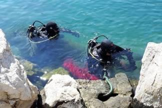 Požeški ronioci čistili more kod Dubrovnika: Izvukli smo čak i jedan prometni znak