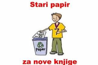 Riješite se starog papira i pomozite kupovinu knjiga djeci iz siromašnih obitelji