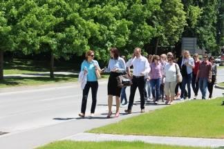 Pleternicu posjetili studenti Poslijediplomskog interdisciplinarnog Sveučilišnog studija iz Zagreba