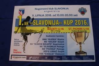 1. NK Slavonija kup okupiti će 250 mladih igrača i priuštiti Požežanima pravi nogometni spektakl