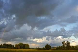 Nebo iznad Požege poslije kiše