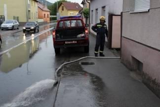 Poplava u Frankopanskoj ulici