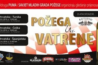PUMA organizira gledanje utakmica Vatrenih u pješačkoj zoni