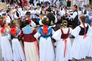34. smotra folklora u sklopu Lidasa u Pleternici