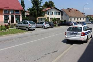 U sudaru sudjelovala tri automobila, nastala je samo materijalna šteta