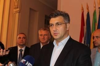 Plenković: ¨Napori koji su uloženi od strane HDZ-ovih ministara ostali su u sjeni drugih političkih oblaka¨