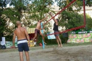 Turnir mješovitih parova u odbojci na pijesku na Gradskim bazenima