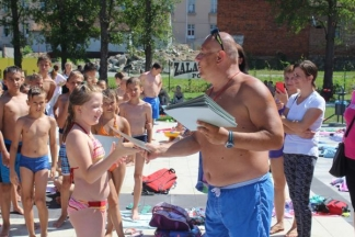 Dodjela diploma najmlađim plivačima