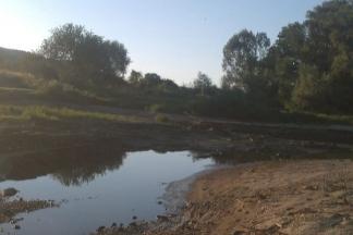 Vodostaj Orljave uzvodno od brane koja se obnavlja u Peternici pao za četiri metra