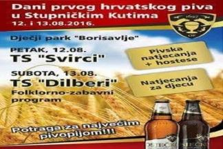 Stupnički Kuti: Dani prvog hrvatskog piva