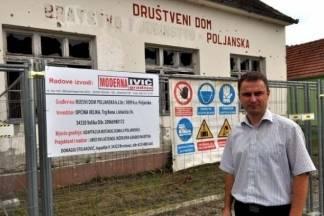Počela rekonstrukcija Mjesnog doma u Poljanskoj