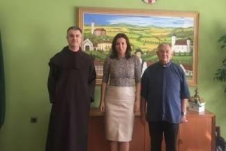 Pater Čolo posjetio gradonačelnicu i prenio svoje dojmove o Pleternici