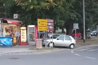 Zanimljivo parkiranje u Pleternici