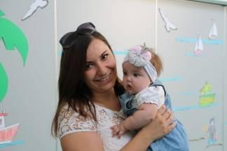 Prijem beba i roditelja u dječjem vrtiću ¨Tratinčica¨ u Pleternici:9.9.2016.