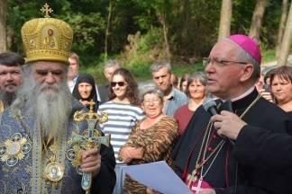 Ekumenski patrijarh Bartolomej posjetio Jasenovac i Pakrac