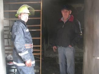 Grom pogodio u radionicu pa izbio požar