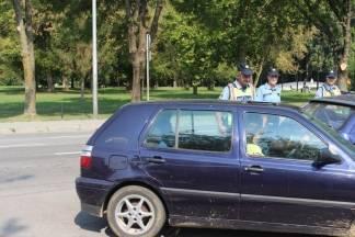 Policija kontrolira koriste li vozači sigurnosni pojas