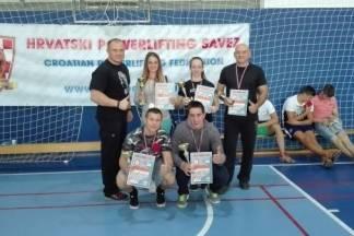 Berba medalja za Powerliftnig klub Body Art na ¨Rujanskom ratu¨ u Šibeniku
