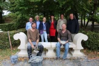Postavljena klupa hrvatsko-francuskog prijateljstva u Lipiku