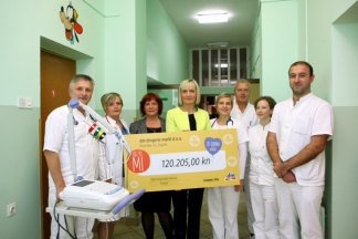 Donacija dm-a omogućila opremanje pedijatrijskog odjela