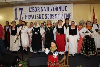 GRABARJE: 17. Izbor najuzornije hrvatske seoske žene 15.10.2016.