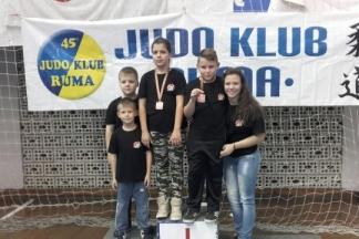 Šest medalja za Judo klub ¨Judokan¨