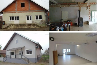 Dovršeno uređenje društvenog doma u Alilovcima