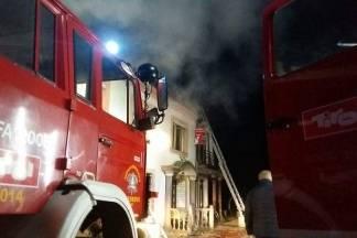 U tijeku je požar na ugostiteljskom objektu ¨Barun Trenk¨ u Trenkovu