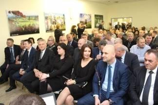 Svečana sjednica Gradskog vijeća Grada Pleternice uz nazočnost ministara, zamjenika i mnogih drugih