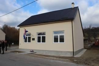Poljanska dobila novouređeni mjesni dom ¨Dom Hrvatskih branitelja¨
