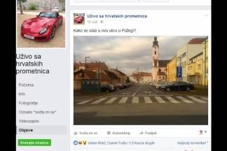 Hrvatska ismijava prometnu situaciju u Ulici Pape Ivana Pavla II u Požegi