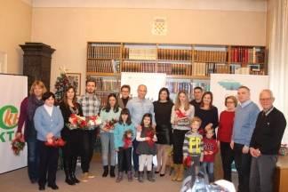Dobitnik nagrade ¨Najčitatelj beba¨ je Max Vukušić sa 16 mjeseci