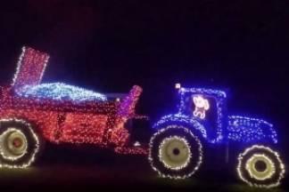 Cijela zemlja dolazi gledati božićni traktor