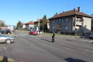 Prometna nesreća na križanju Vukovarske i Stepinčeve ulice