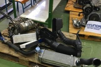 Tri Hyundai motora Obrtničkom učilištu u Zagrebu
