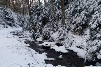 Snježna idila na Zvečevu