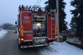 Zapalio se dimnjak u ulici Ante Starčevića