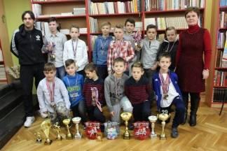 Prijem najboljih sportaša/učenika kod ravnateljice OŠ D. Cesarić