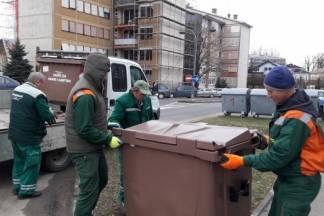 Danas počinje odvoz papira i kartona iz smeđih spremnika u Pakracu i Lipiku