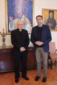 Biskup primio predstavnika Udruge ¨OPGH Život¨