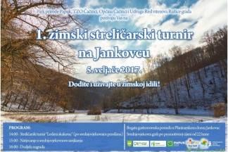 1. Zimski streličarski turnir na Jankovcu