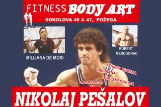 Nikolaj Pešalov i Milijana De Mori 18. veljače održavaju seminar u Body Art-u