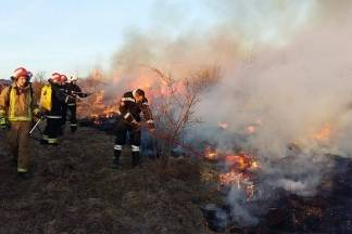 Vatrogasci gaslili požare na otvorenom