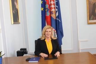 Predsjednica Kolinda Grabar Kitarović stigla u Požegu