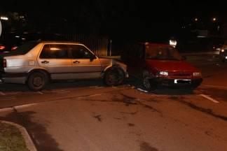 Prometna nesreća na križanju Osječke ulice i Ulice Hrvatskih branitelja u Požegi