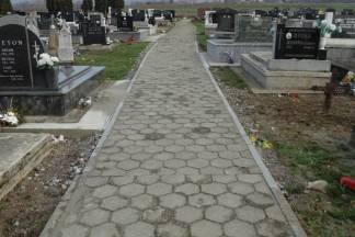 Sanacija staze na groblju u Kaptolu