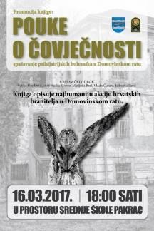 ¨Pouke o čovječnosti¨ -knjiga o najhumanijoj akciji hrvatskih branitelja u Domovinskom ratu