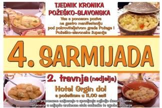 Najavljena tradicionalna 4. Sarmijada u Požegi