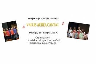 Međunarodno natjecanje dječjih zborova- Vallis aurea cantat 2017.