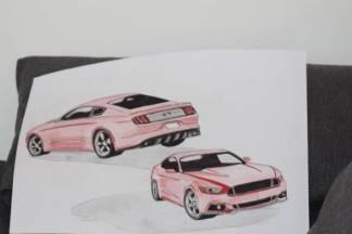 ¨Od malih nogu volim automobile i crtanje, s godinama sam to dvoje spojio i usavršio tehnike¨